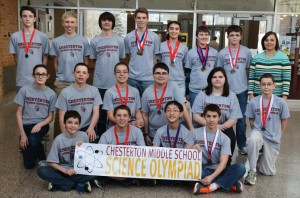 Science Olympiad team medals